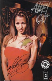 ALLEY BAGGETT SIGNED ALLEY CAT COMIC BOOK #2 (A)