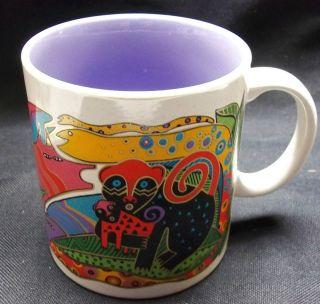 Rare Laurel Burch ia Designer Collectible Mug 1993 Coffee Tea