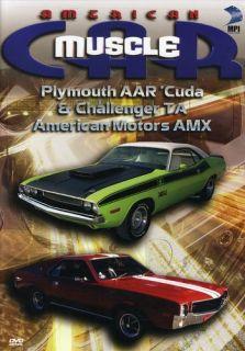 AMERICAN MUSCLECAR PLYMOUTH AAR CUDA CHALLENGER TA AMERICAN MOTORS AMX