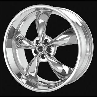 17 Wheels Rims American Racing AR605 Chrome 17x8 5x4 5 Mustang G35