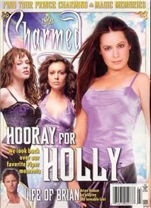 Charmed Official Magazine 15 Alyssa Milano Holly Marie