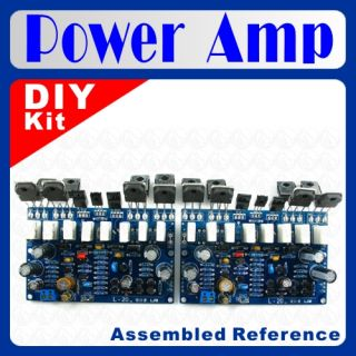 L20 Audio Power Amplifier Board DIY Kit x 2pcs 350W 350W Best for Amp