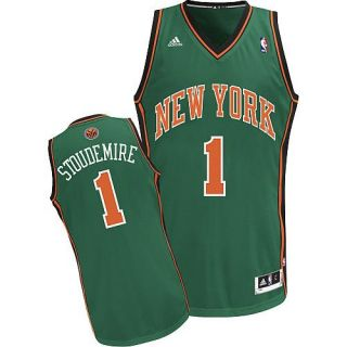 Amare Stoudemire NY Knicks St Patricks Day Adidas Swingman Jersey Men