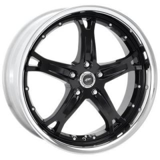American Racing Wheel Killer Aluminum Black 20 x10 5x4 5 Bolt Circle 6