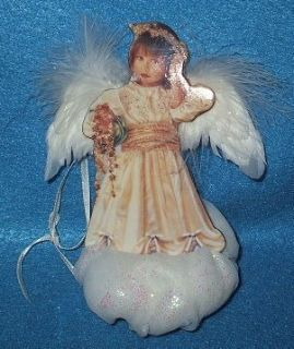 Heavenly Thought Sandra Kuck Heaven sent Angel Ornament