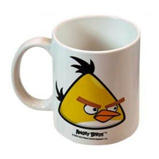 Pack Officially Licensed Angry Birds Complete Ceramic Mug Set