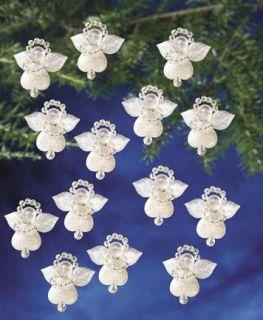 Beaded Christmas Ornament Kit Makes 24 Littlest Angels