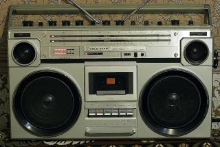 GOLDSTAR SR 580 AM FM RADIO CASSETTE RECORDER PLAYER BOOMBOX