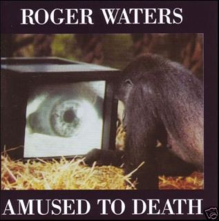 AMUSED TO DEATH CD ( PINK FLOYD ) 90s ~ ITS A MIRACLE +++ *NEW