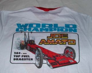 1985 KEYSTONE AUTOMOTIVE JOE AMATO NHRA NITRO TOP FUEL CHAMPION T