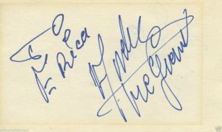 ANDRE THE GIANT SIGNED AUTOGRAPHED INDEX CARD JSA LOA COA WRESTLING