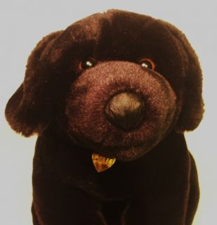 Stuffed Plush Animal Alley 11 black LABRADOR RETRIEVER Goregeous Plush