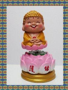 Happy Smile Chinese Buddha God Bobblehead Figure 1025