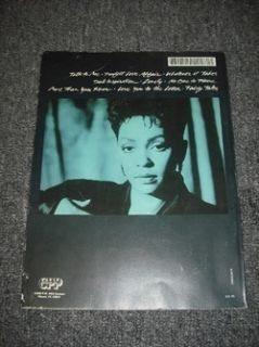Anita Baker Compositions Piano Vocal Chords Sheet Music Song Book