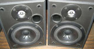 sony speaker 2 piece set bookshelf style model ss mb100h