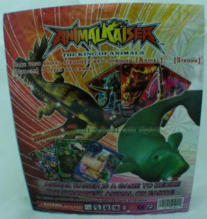 RARE Animal Kaiser Ver 11 Trading Cards 60 Pcs Boxset with Strong Card