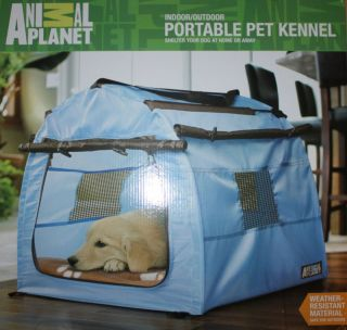 Animal Planet Portable Dog Pet Kennel Tent Carrier House Crate Indoor