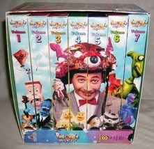 Pee Wees Playhouse VHS Tapes Vol 1   8 Pee Wee Herman Vintage