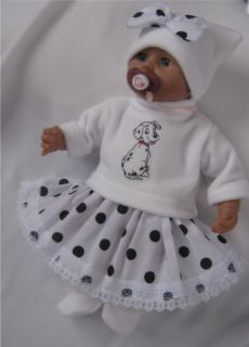 Baby Dolls Clothes Outfit Fit Annabell Born 14 19 D6