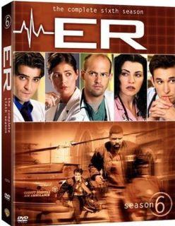 ER E R Complete Sixth Season 6 Six DVD New