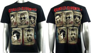 Avenged Sevenfold A7X Rock Music Biker T Shirt Sz XL