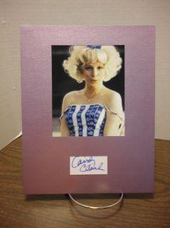 Candy Clark Autograph American Graffiti Display Signed Signature COA