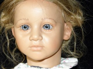 Annette Himstedt Ellen Doll BIG EYED  Rare  Hard to
