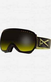 Anon Comrade Goggles Trench with Yellow Gradient Lens Mens Ski