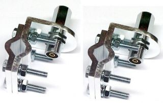 is for (2) All Aluminum Mirror Mount for CB and Ham Radio Antennas