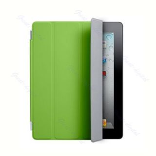 Slim Smart Cover Case Stand For Apple iPad 2 3rd Protector Green