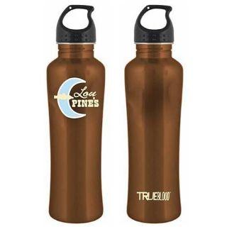 True Blood Lou Pines Brown Vampire Gym Water Aluminum Drink Bottle