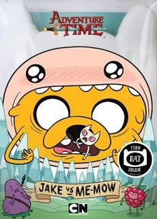FREE2DaySHIP NEW Adventure Time Jake Vs MeMow 3 [DVD] Free Ins