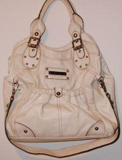 Kathy Van Zeeland Ivory Antique White x Large Shoulderbag Tote Handbag
