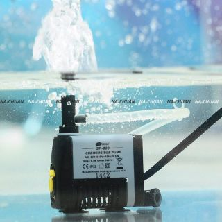 5W 260L/H Fish Aquarium Tank Fountain Pond Water Pump Filter
