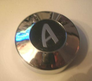 Appliance 3 1 4 or 3 25 Chrome Snap on Mag Wheel Center Cap Hub