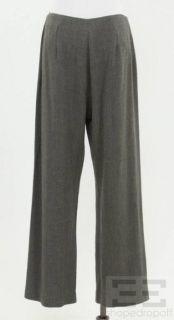 Armani COLLEZIONI 2 PC Grey White Striped Jacket Pants Suit Set Size