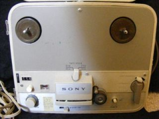 to Reel Tape Recorder Play TC 102A RARE Retro Audio Equipment