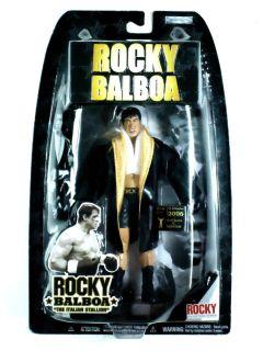 Balboa Action Figure Rocky 6 Jakks Pacific Authentic Collection