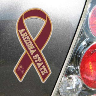 click an image to enlarge arizona state sun devils ribbon magnet