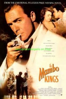 MAMBO KINGS MOVIE POSTER ORIGINAL 27X40 ARMAND ASSANTE