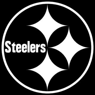 Steelers Logo 4 Vinyl Film Auto Car Truck Window Sticker Game Decals