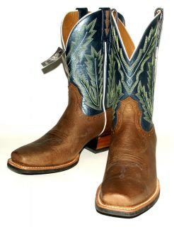 Ariat Mens 10006837 Adriano Moraes Bull Rider Western Boots in Earth