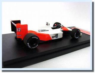 Ayrton Senna F1 Formula 1 New Racing McLaren Honda Car MP4 4 Tameo