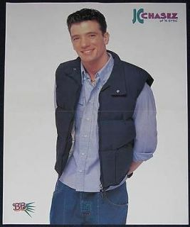 nick carter on drums centerfold poster 1166b jc chasez time