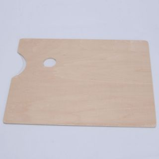 Art Alternatives Wood Paint Tray Palette Drawing Board Wooden Middle