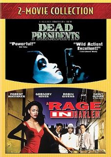 Dead Presidents A Rage in Harlem DVD, 2008, 2 Disc Set