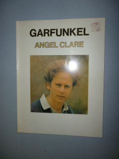 Angel Clare Songbook Art Garfunkel 1974 10 Songs Song Book of Sheet