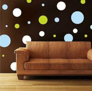 Circles Wall Sticker Vinyl Decal Room Art Phrase