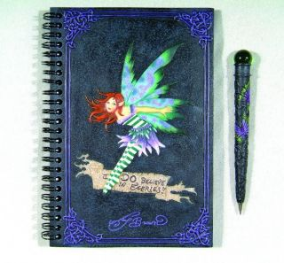 amy brown i do believe in fairies journal set book