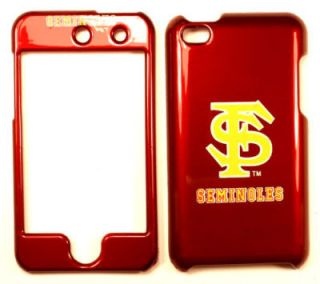 State Seminoles Apple iPod Touch 4 Faceplate Case Cover Snap On
